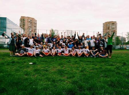 Екатерина Барабанова на турнире All Stars Ultimate Camps 2015