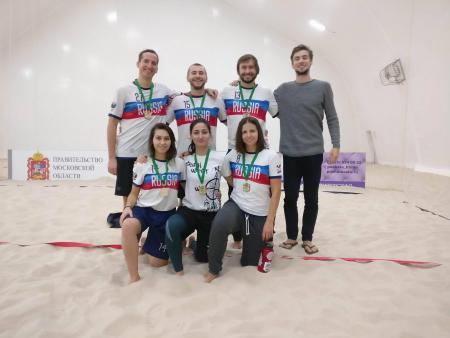Илья Кытманов на турнире Зимняя Пляжная Лига 2017
