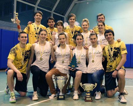 Данила Петров на турнире Рождественский турнир 2015