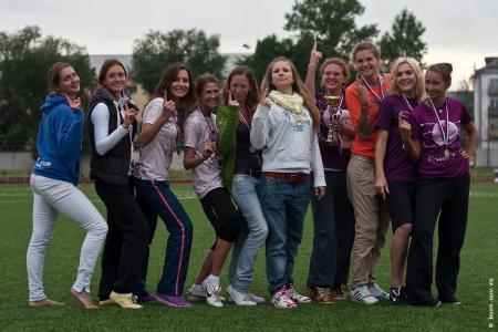 Мэри Макарова на турнире КНО 2011
