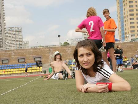 Мэри Макарова на турнире МФЛД 2008
