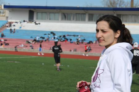 Мэри Макарова на турнире Волна 2012
