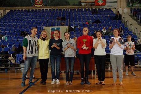 Екатерина Блажко на турнире Весеннее обострение 2015