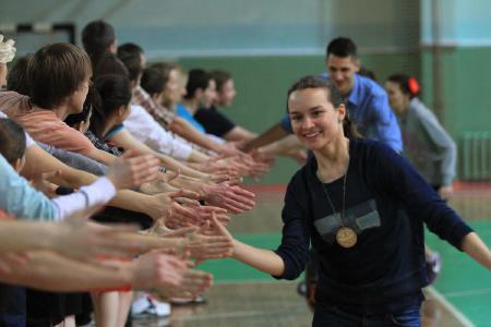 Екатерина Блажко на турнире Капялюш 2015