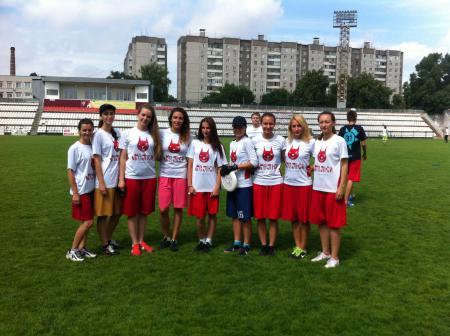 Екатерина Блажко на турнире ОЛЧ 2015 — 2 этап