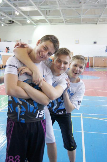 Борис Хилько на турнире Летящий SpiNN 2013
