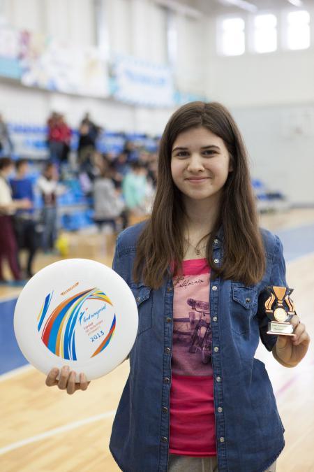Алиса Тизик на турнире Лорд Новгород 2013