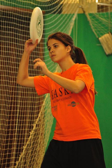 Алиса Тизик на турнире Каска 2012