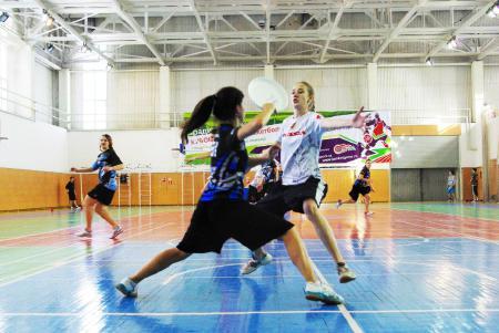 Алиса Тизик на турнире Летящий SpiNN 2013