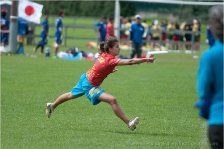 Алиса Тизик на турнире WJUC 2012