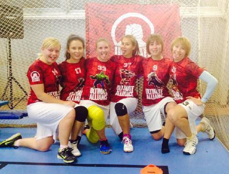 Екатерина Луценко на турнире Женская лига | IRONSIX | ЦР-1