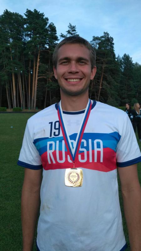 Данил Кутов на турнире МЧР 2017
