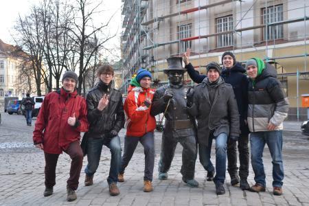 Борис Герн на турнире Kick in de Kok 2013