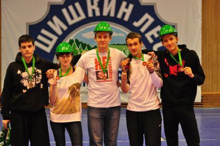 Екатерина Бадягина на турнире Каска 2012