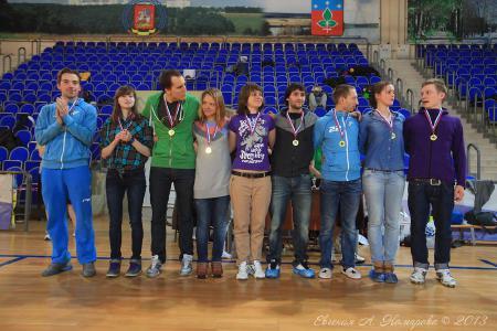 Екатерина Бадягина на турнире Весеннее обострение 2013