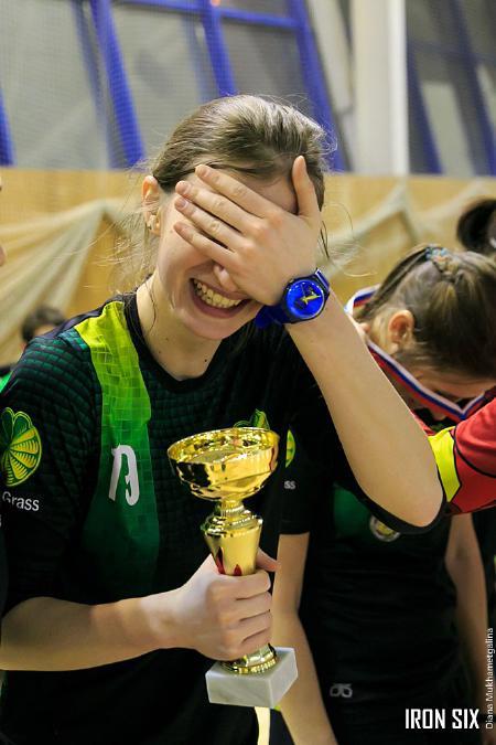 Екатерина Бадягина на турнире Женская лига   IRONSIX   финал