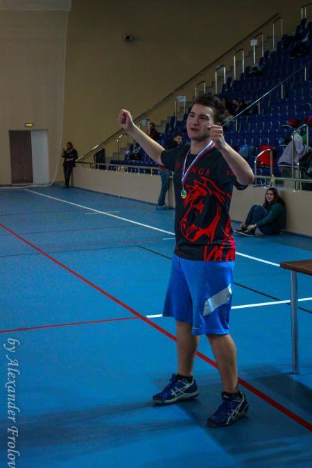 Леонид Дивисенко на турнире Финал студенческой лиги 2014