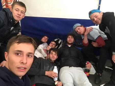 Леонид Дивисенко на турнире Кубок СПб 2018