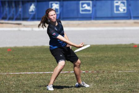 Ксения Ясалова на турнире КНО 2015