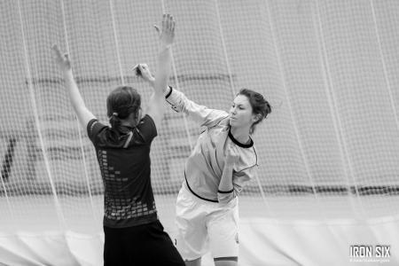 Ксения Ясалова на турнире IRONSIX 16/17 Финалы