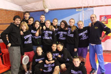 Ксения Ясалова на турнире Запуск 2012