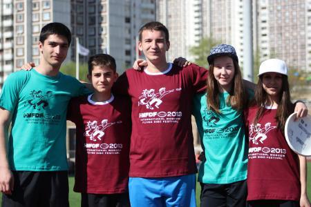 Ксения Ясалова на турнире МФЛД 2013
