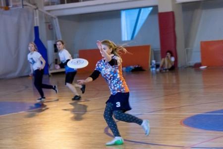 Таня Бычкова на турнире Женская лига| IRONSIX | ЦР-2