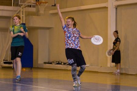 Таня Бычкова на турнире Женская лига | IRONSIX | ЦР-1