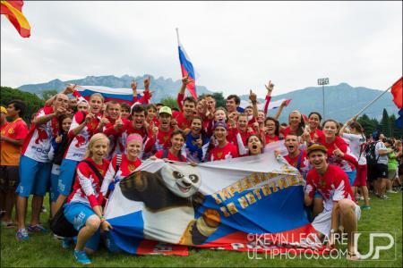 Таня Бычкова на турнире WJUC 2014