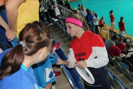 Таня Бычкова на турнире Запуск 2014