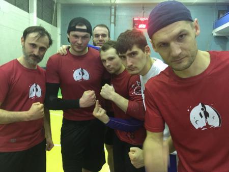 Юрий Заварин на турнире ЧВО в зале 2018