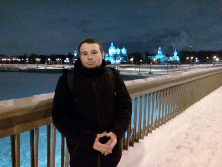 Юрий Заварин на турнире Рождественский турнир 2017