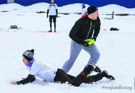 Сергей Стерлигов на турнире По уши в снегу #2