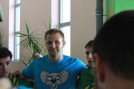 Сергей Стерлигов на турнире Moscow Elite Ultimate 2014