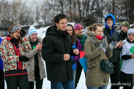 Анастасия Бутина на турнире По уши в снегу #2