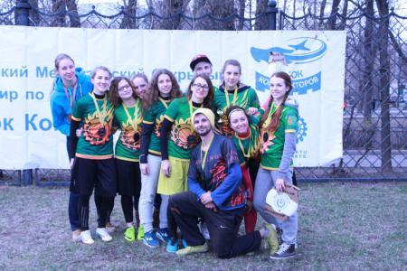 Карина Свидерская на турнире Кубок Конструкторов 2015