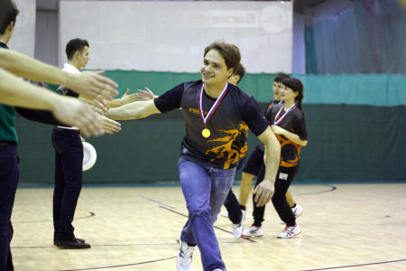 Валерий Федотовских на турнире Конституционный слет 2014