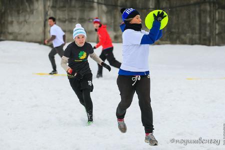 Татьяна Самарцева на турнире По уши в снегу #2