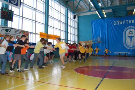 Николай Андреев на турнире Летящий SpiNN 2008
