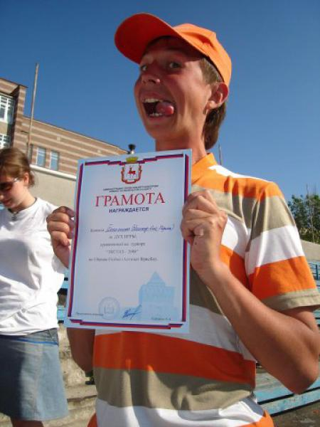 Николай Андреев на турнире Экстаз 2008