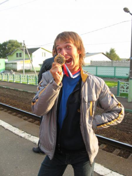 Николай Андреев на турнире ОЧР 2010
