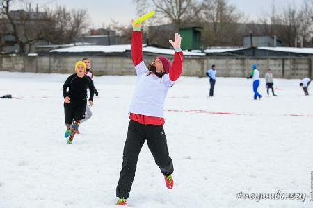 Милана Ухтинская на турнире По уши в снегу #2