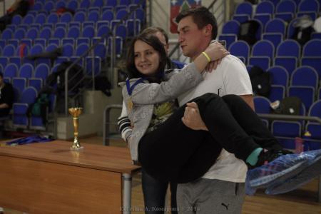 Милана Ухтинская на турнире Миксомания 2016