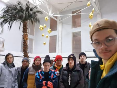 Лев Стахеев на турнире КС 2019