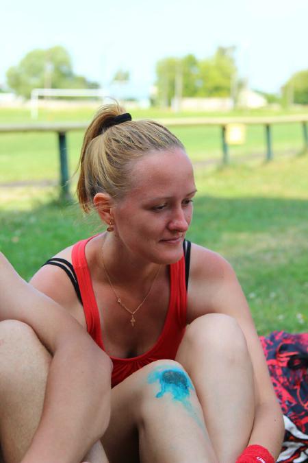 Ольга Овсянова на турнире КВХ 2012