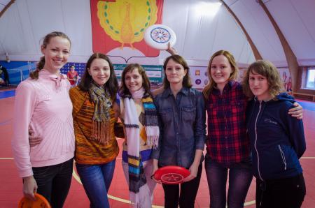 Ольга Овсянова на турнире Запуск 2012