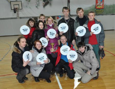 Любовь Кожанова на турнире Запуск 2011