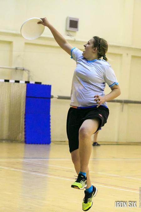 Дарья Пацукова на турнире Женская лига| IRONSIX | ЦР-2