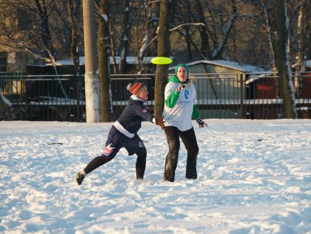 Дарья Пацукова на турнире По уши в снегу #1