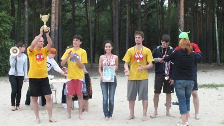 Евгения Коблова на турнире Пески Сибири 2012